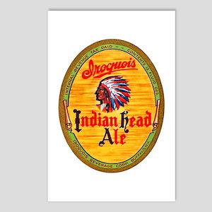 New York Beer Label 4 Postcards (Package of 8)