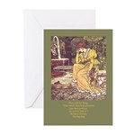 Crane's Frog King Greeting Cards (Pk of 10)