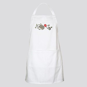 Baby Hedgehog's Red Balloon Apron