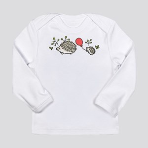 Baby Hedgehog's Red Balloon Long Sleeve Infant T-S