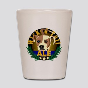 Wicked Tail Ale Shot Glass