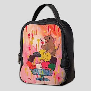 Ice Cream Rat Neoprene Lunch Bag