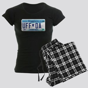 "Minnesota ""Uffda"" Women's Dark Pajamas"