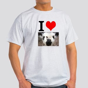 Pictures of Goats and Sheep w Light T-Shirt