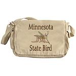 Minnesota State Bird Messenger Bag