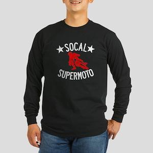Socal Supermoto Dark Shirt Long Sleeve Dark T-Shir