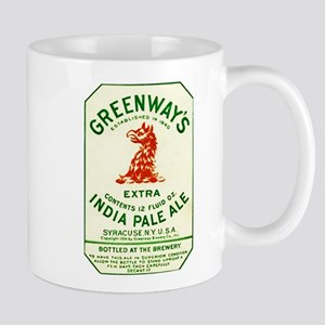 New York Beer Label 2 Mug