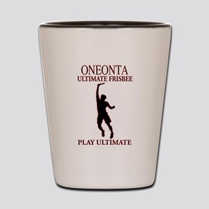 Oneonta Ultimate Frisbee Shot Glass