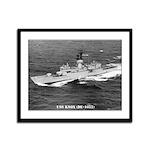 USS KNOX Framed Panel Print