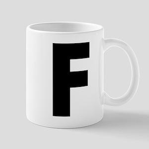 Letter F Mug
