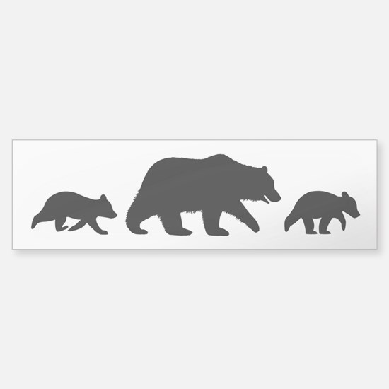 Grizzly Bears Sticker (Bumper)