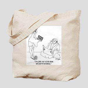 Replaced By an Abacus Tote Bag