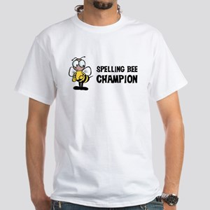 Spelling Bee Champion White T-Shirt