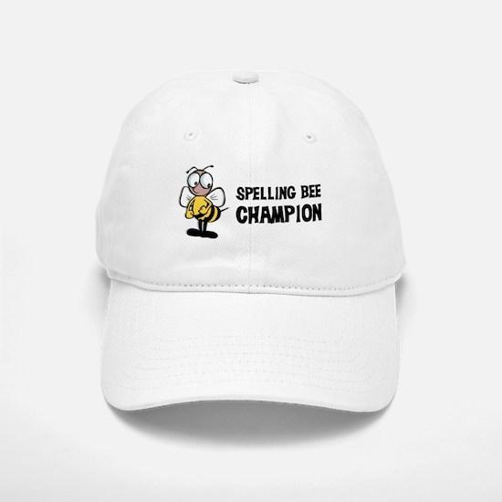 Spelling Bee Champion Baseball Baseball Cap