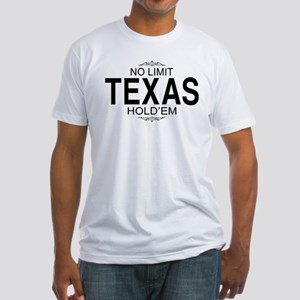 No Limit Texas Hold'em Fitted T-Shirt