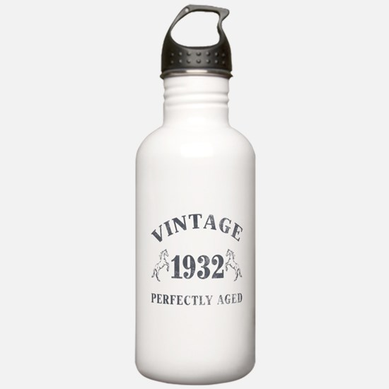 1932 Vintage w/ Horses Water Bottle