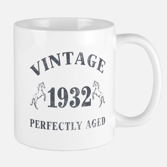 1932 Vintage w/ Horses Mug