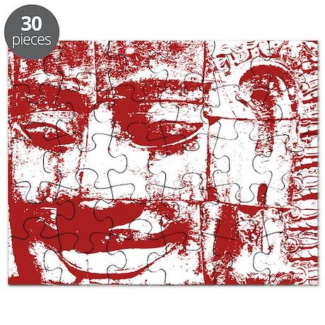 Khmer Stone Face Puzzle