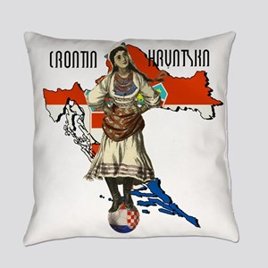 Croatia Culture Everyday Pillow