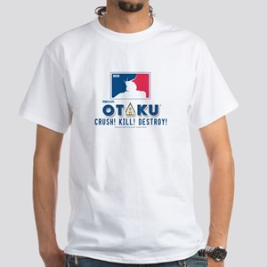 Mecha Otaku - White T-Shirt