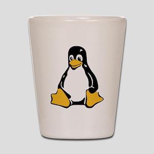 Classic Tux Penguin Shot Glass