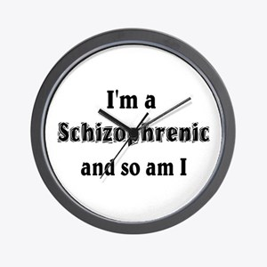 I'm A Schizophrenic Wall Clock