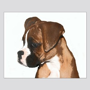 Boxer Dog Small Poster