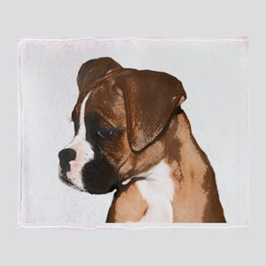 Boxer Dog Throw Blanket