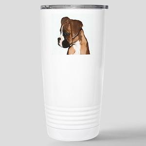 Boxer Dog Stainless Steel Travel Mug