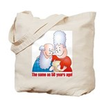Old Photo Tote Bag