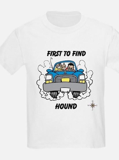 First to Find Hound T-Shirt