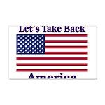 Take Back America 22x14 Wall Peel