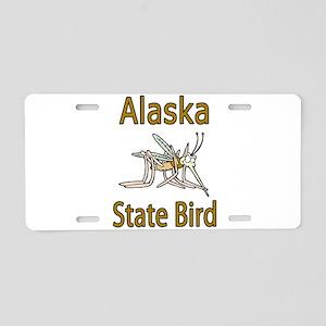 Alaska State Bird Aluminum License Plate