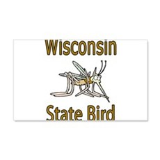 Wisconsin State Bird 22x14 Wall Peel