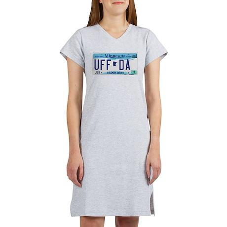 """Minnesota """"Uffda"""" Women's Nightshirt"""