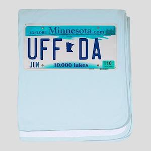 """Minnesota """"Uffda"""" baby blanket"""
