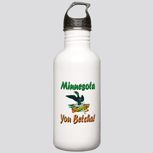 Minnesota You Betcha Stainless Water Bottle 1.0L