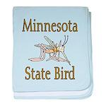 Minnesota State Bird baby blanket