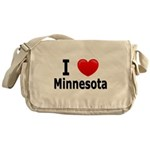 I Love Minnesota Messenger Bag