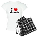 I Love Minnesota Women's Light Pajamas