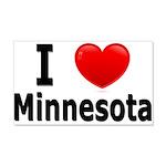 I Love Minnesota 22x14 Wall Peel