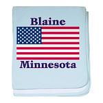 I Love Blaine baby blanket