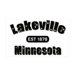 I Love Lakeville 38.5 x 24.5 Wall Peel