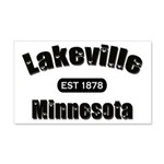 I Love Lakeville 22x14 Wall Peel