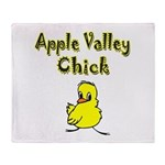 I Love Apple Valley Throw Blanket