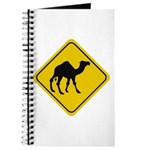 Camel Crossing Sign Journal