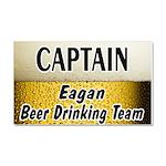I Love Eagan Car Magnet 20 x 12