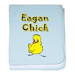 I Love Eagan baby blanket