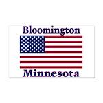 I Love Bloomington Car Magnet 20 x 12