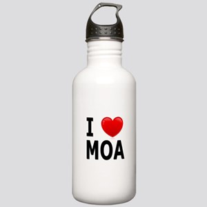 I Love MOA Stainless Water Bottle 1.0L
